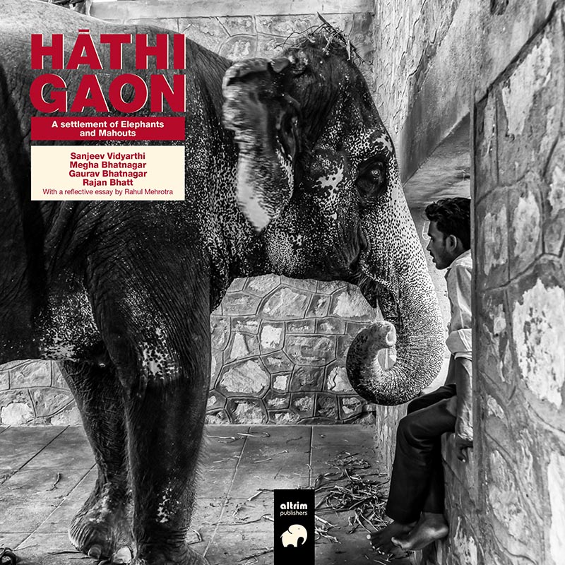 HATHIGAON A settlement of Elephants and Mahouts in the Indian city of Jaipur